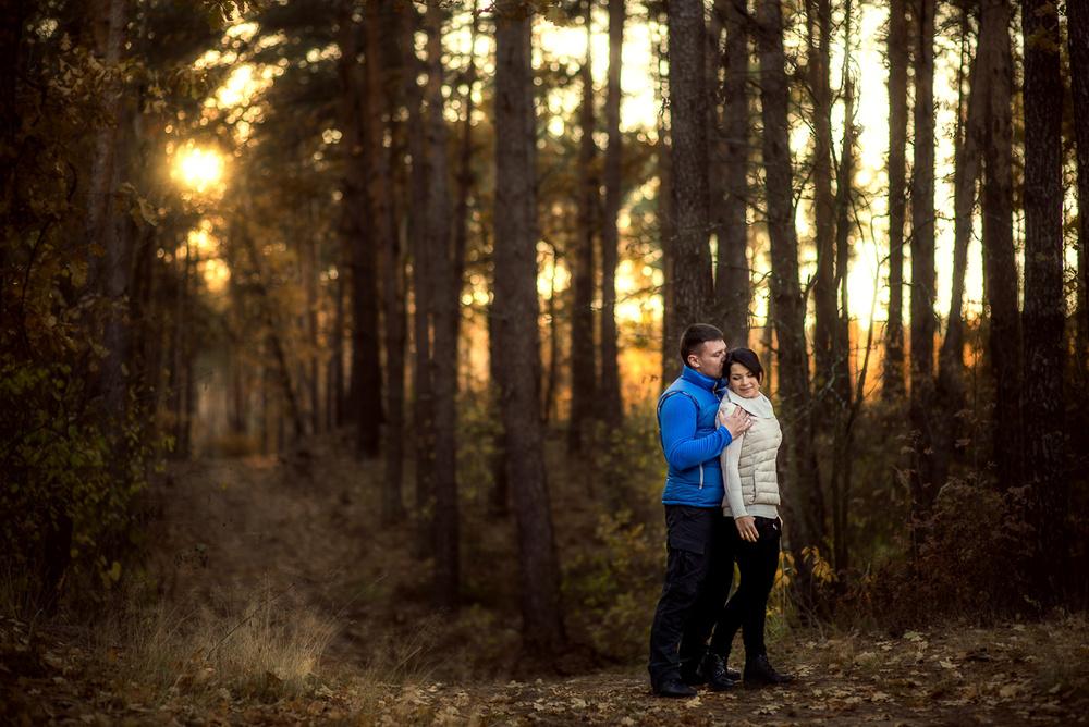 Свадебная фотосъемка и лав стори - Олег и Наташа