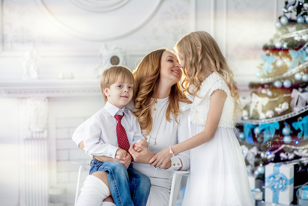 Семейные фотосессии - Ирина и детки
