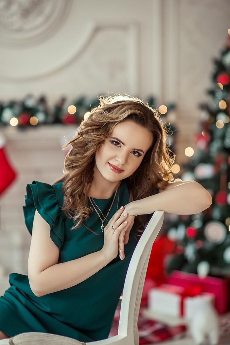 Женские портреты - Новогодние портретики