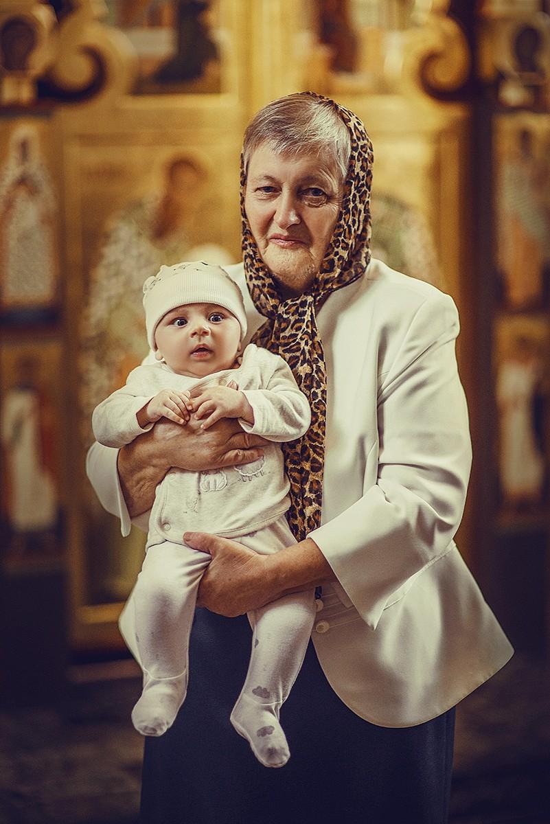 Фотосъемка крещения - Крещения детей