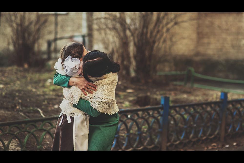 Детская фотосессия - Назад в прошлое