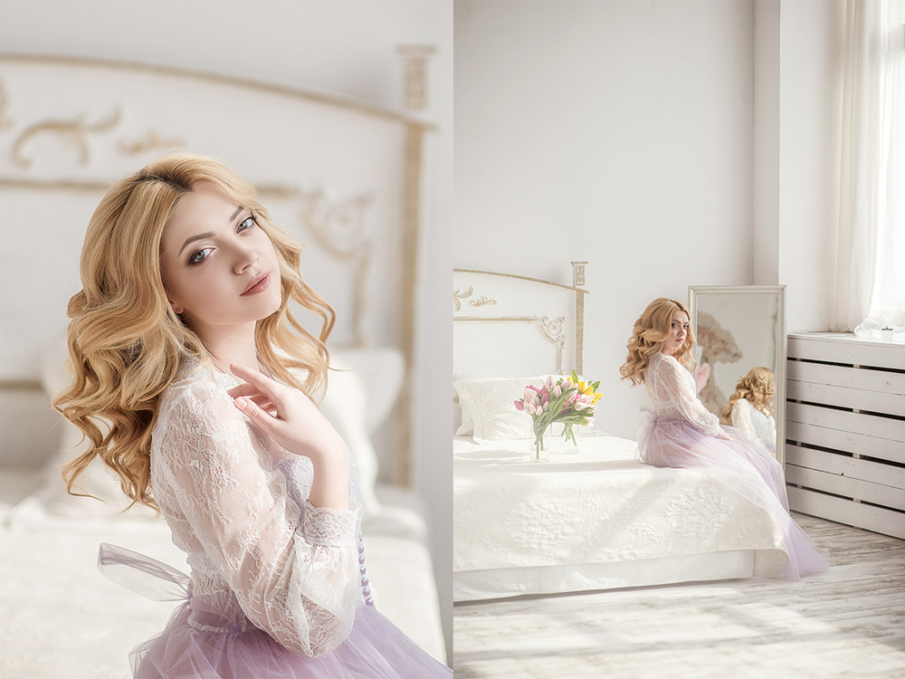 Свадебная фотосъемка и лав стори - Утро невесты...Эвелина
