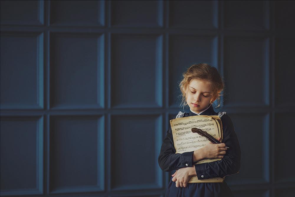 Детская фотосессия - Звуки музыки