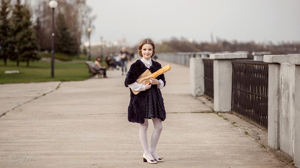 Детская фотосессия - Париж