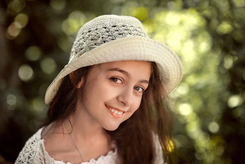 Детская фотосессия - Ксюша
