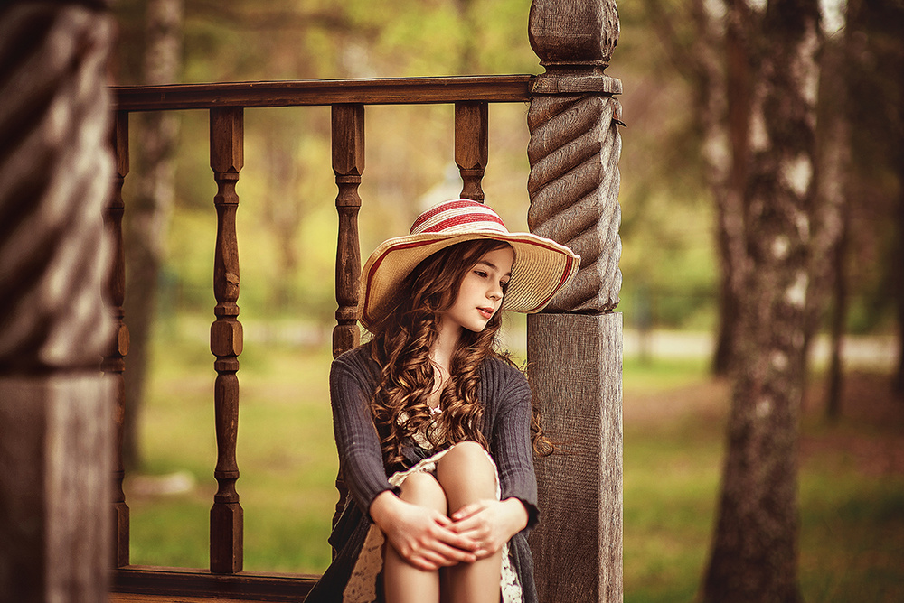 Детская фотосессия - Валерия