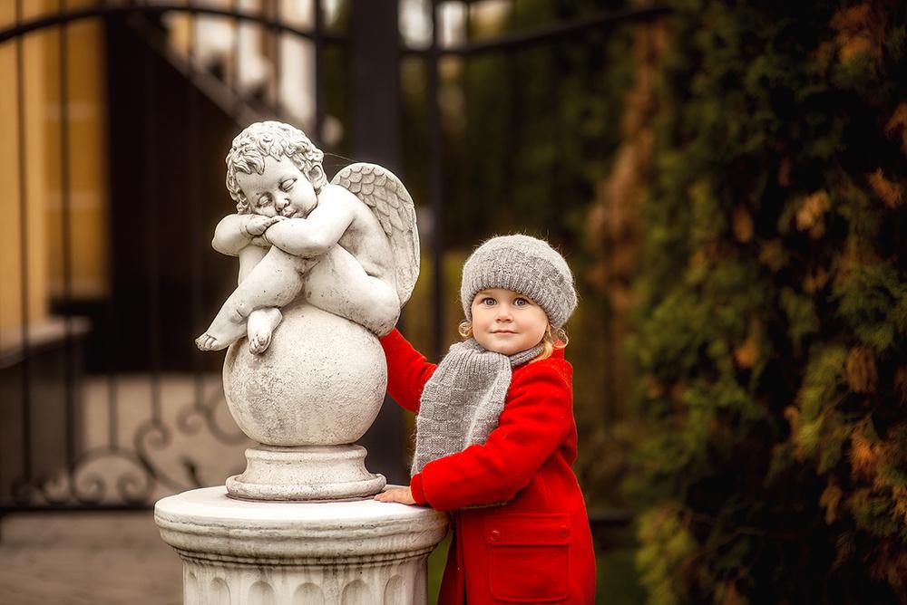Детская фотосессия - Осенняя прогулка