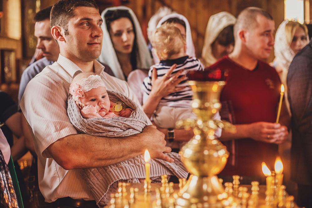 Фотосъемка крещения - Крещение 14 мая