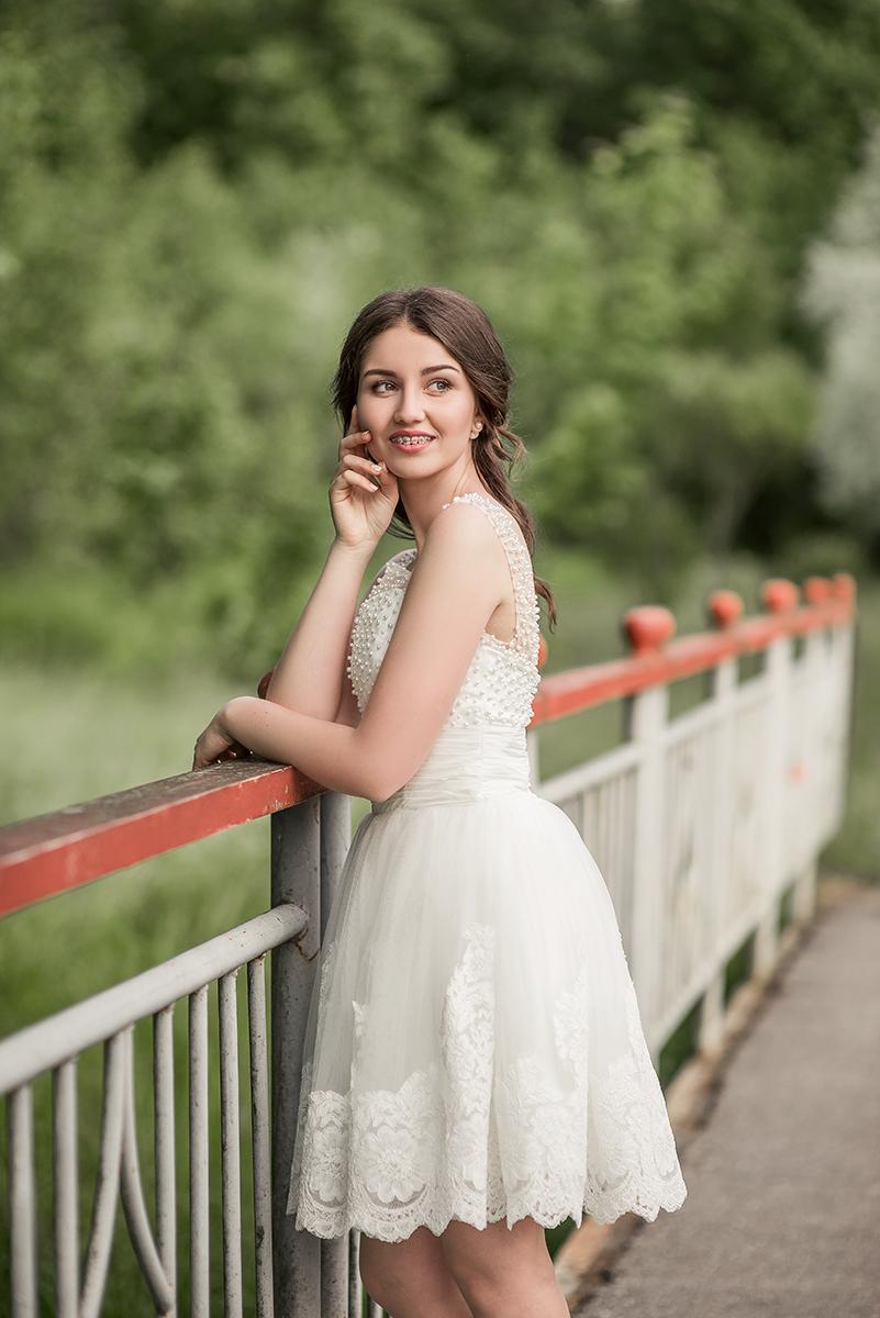Женские портреты - Выпускница Анечка