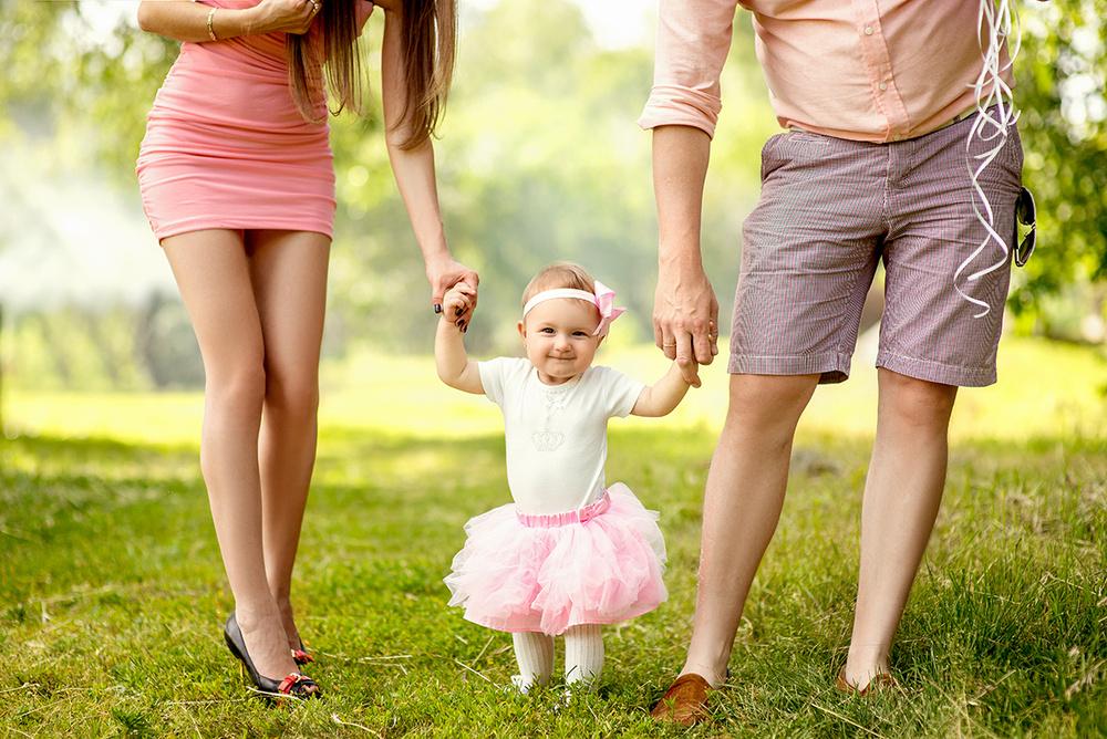 Семейные фотосессии - Годик