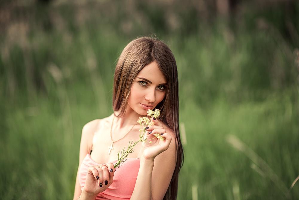 Женские портреты - Олечка