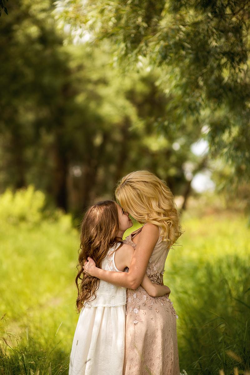 Семейные фотосессии - Лера и мама