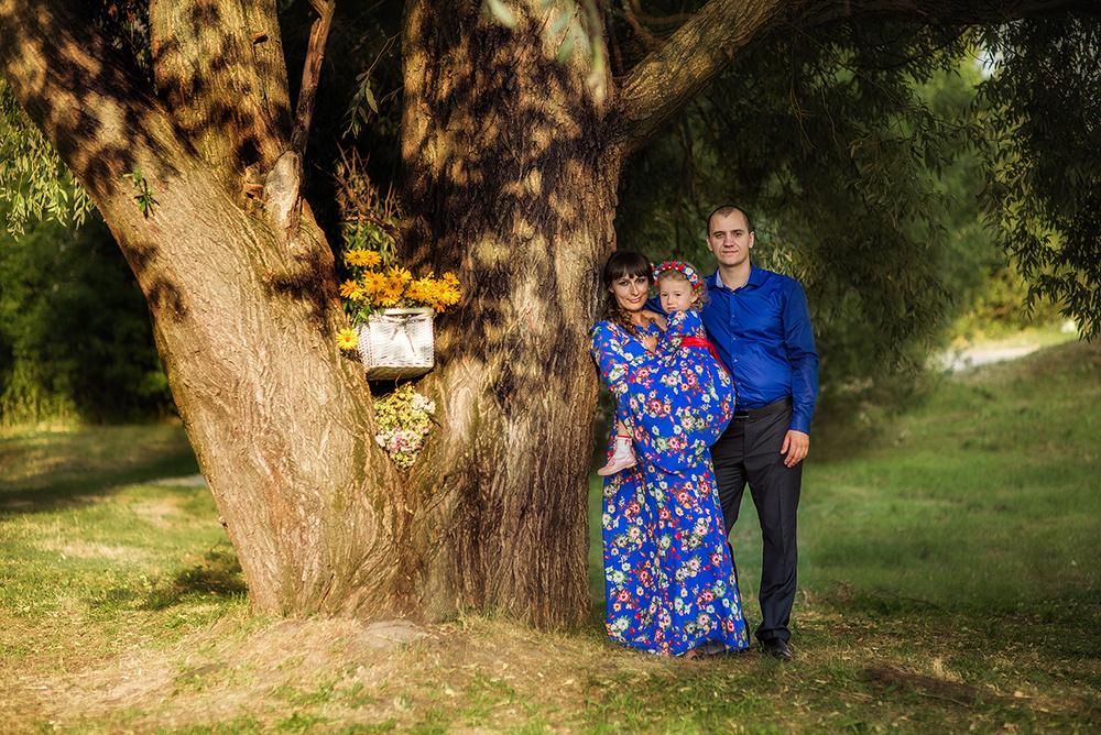 Семейные фотосессии - Диана и дочь
