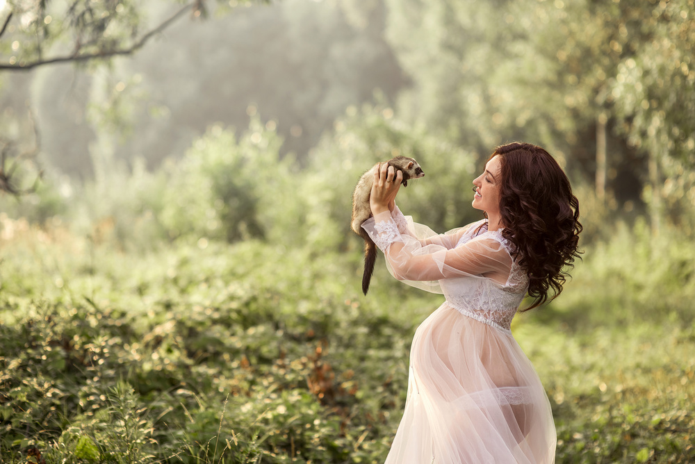 Беременные - Катя и доченьки