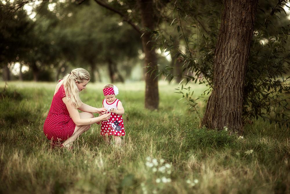 Семейные фотосессии - В горошек)