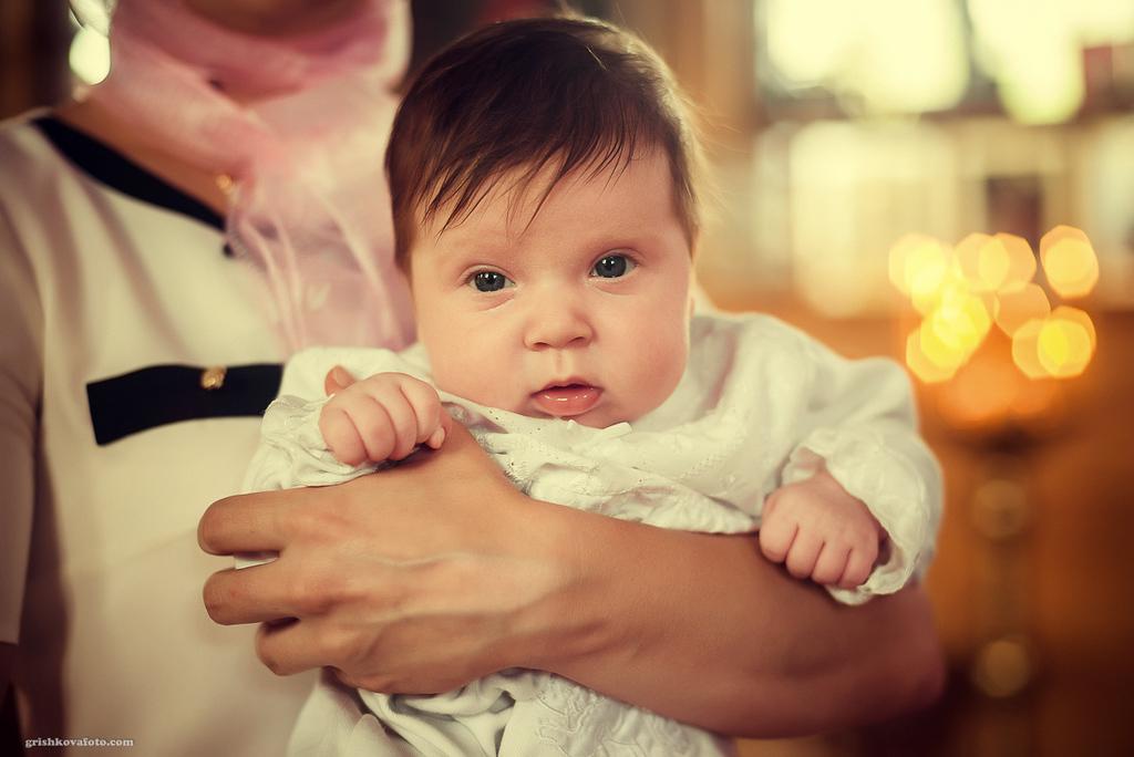 Фотосъемка крещения - Крещение Софии