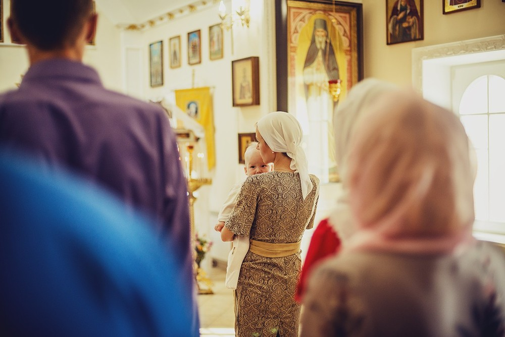 Фотосъемка крещения - Крещение 2 октября 2016