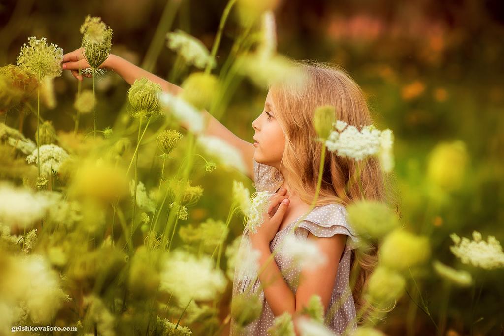 Детская фотосессия - Ангелина