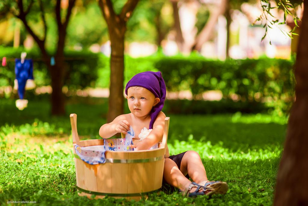 Детская фотосессия - Фотопроект