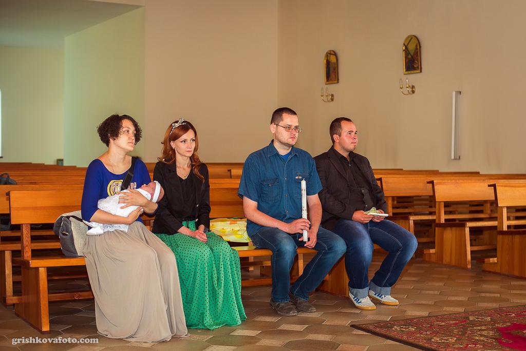 Фотосъемка крещения - Крещение Марии
