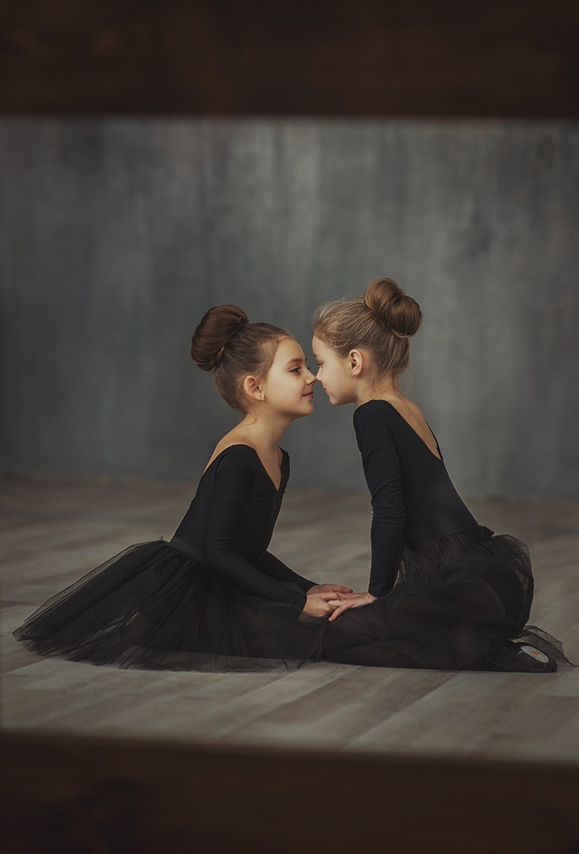 Детская фотосессия - Балерины