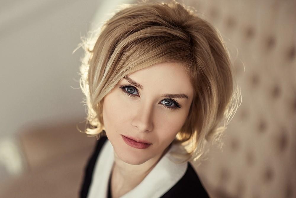 Женские портреты - Ольга, студийная съёмка