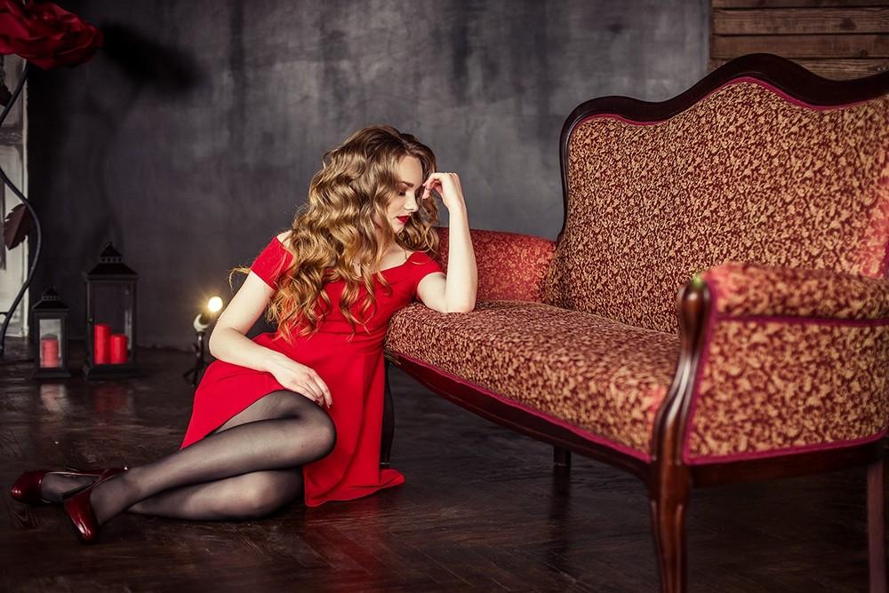 Женские портреты - Кристина, студийная съёмка