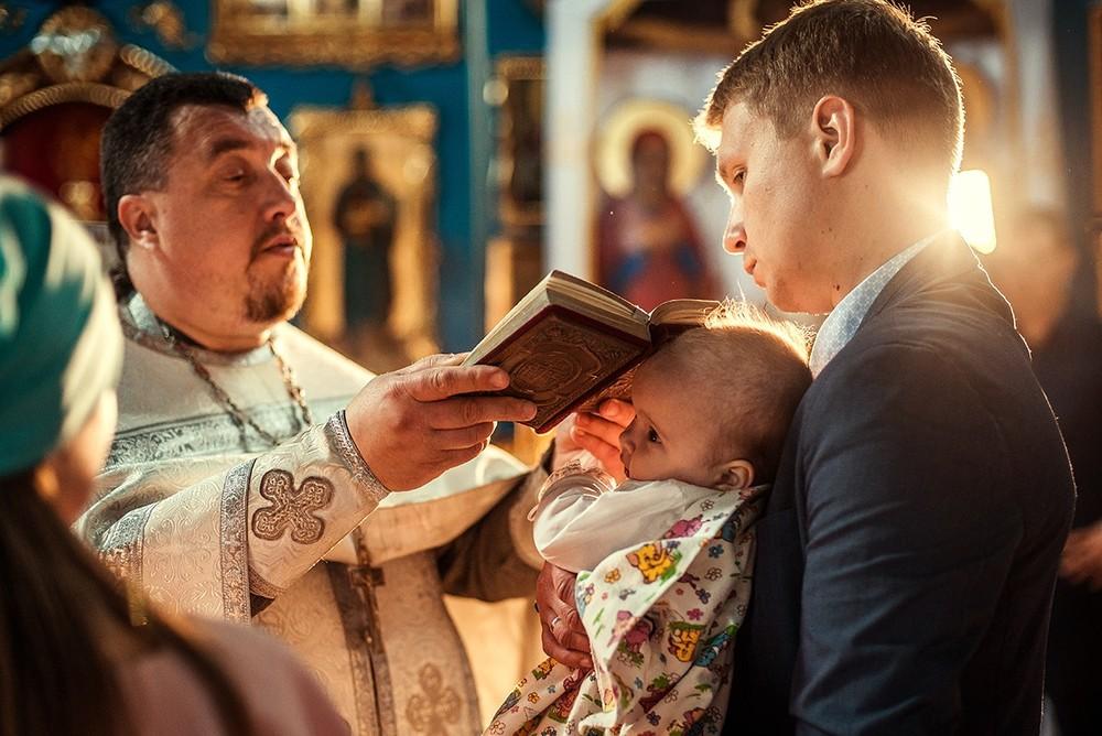 Фотосъемка крещения - Крещение, май 2017