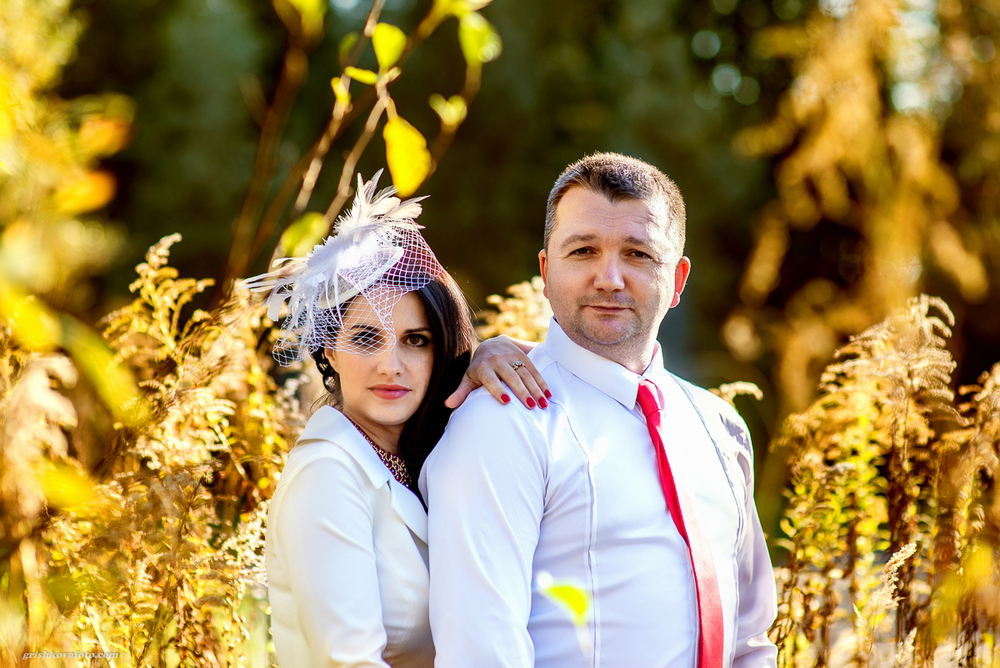 Свадебная фотосъемка и лав стори - 10-лет  совместной жизни