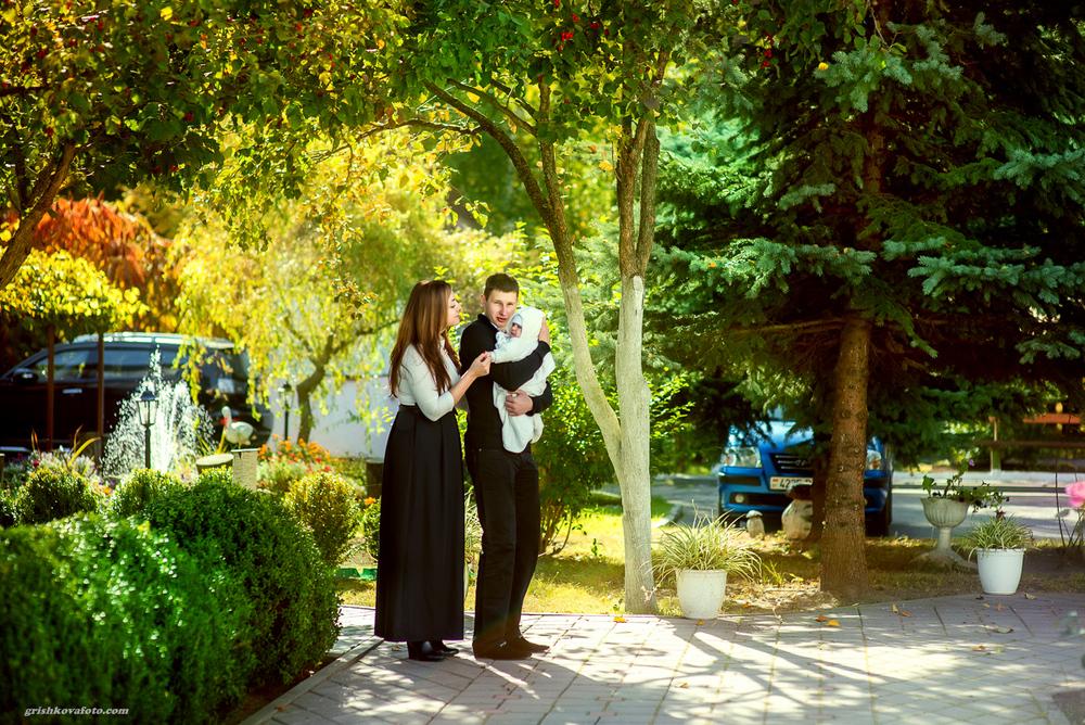 Фотосъемка крещения - Крещение Алексея