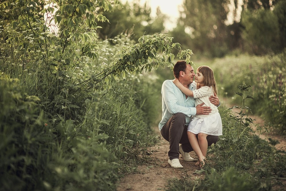 Семейные фотосессии - Закатные