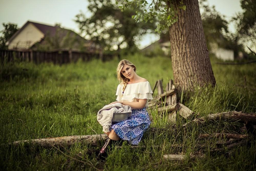 Женские портреты - Белорусская американка