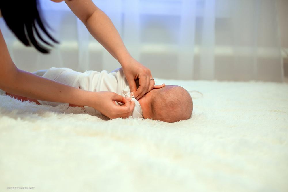 Фотосъемка крещения - Крещение Тимофея