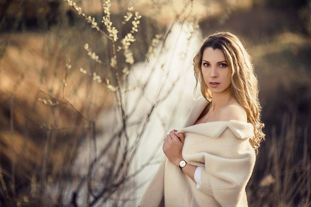Женские портреты - Ранней весной, Светлана