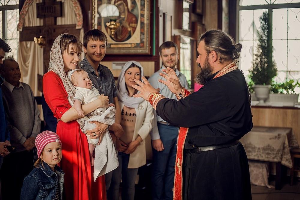 Фотосъемка крещения - 29 апреля 2018