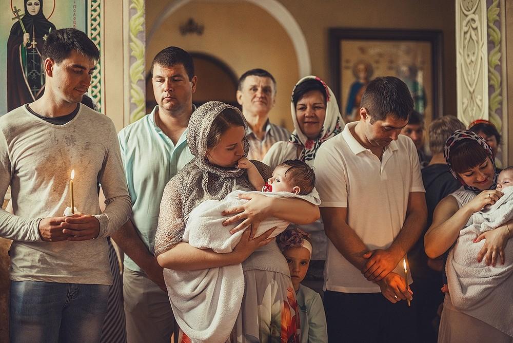Фотосъемка крещения - Крещение, май, 2018
