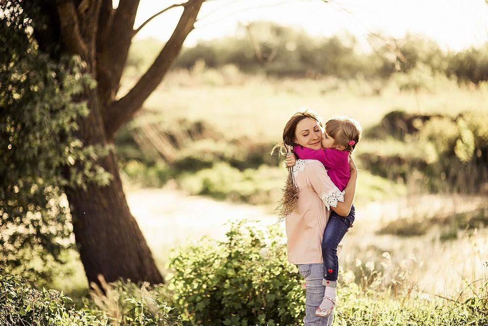 Семейные фотосессии - Мама с дочкой, май 2018