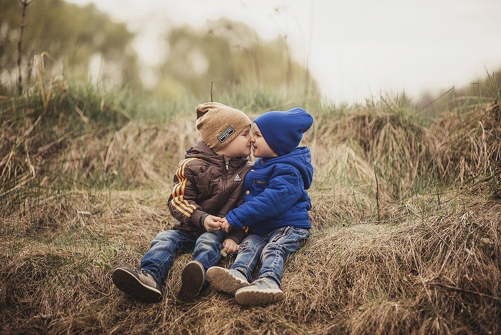 Семейные фотосессии - Мама и мальчики