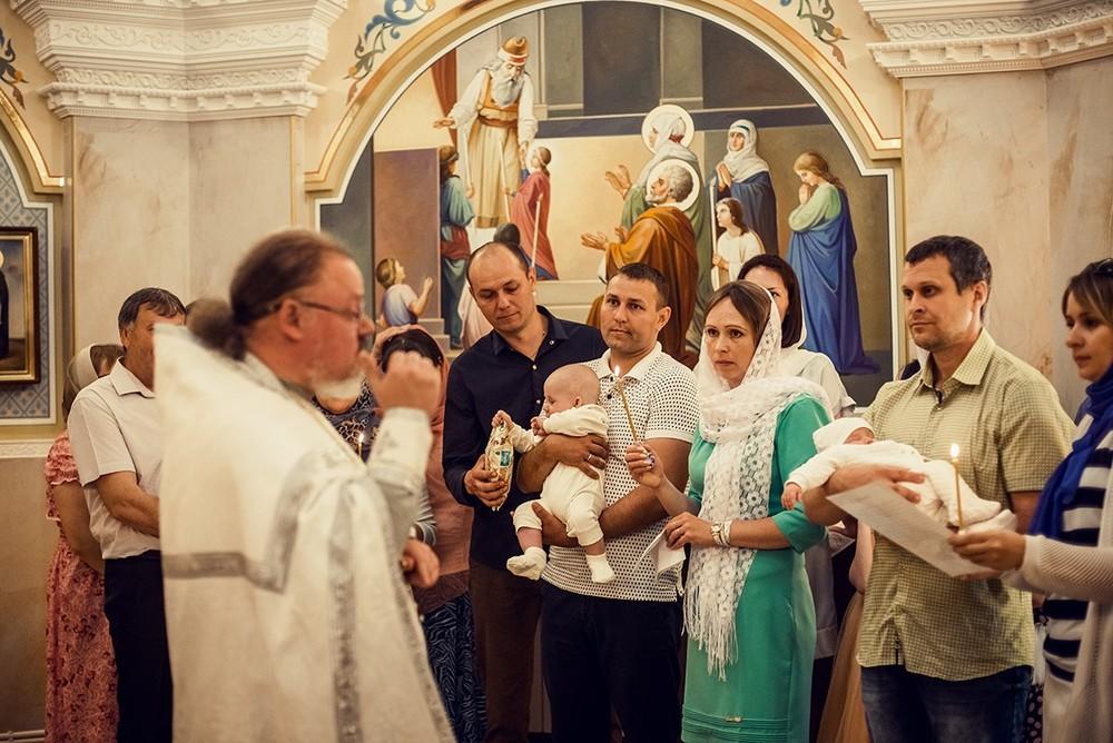 Фотосъемка крещения - Крещение, июнь 2018