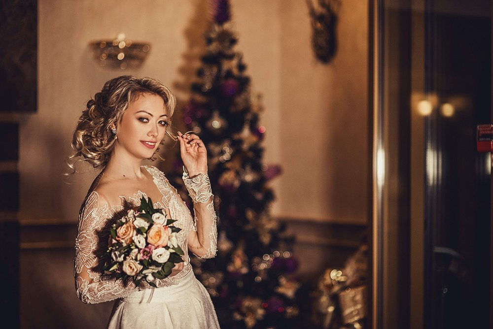 Свадебная фотосъемка и лав стори - Свадьба, декабрь 2017