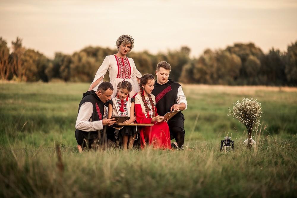 Семейные фотосессии - Воспоминания...