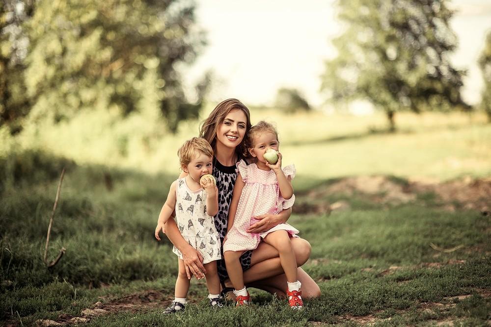 Семейные фотосессии - Мама и дочки