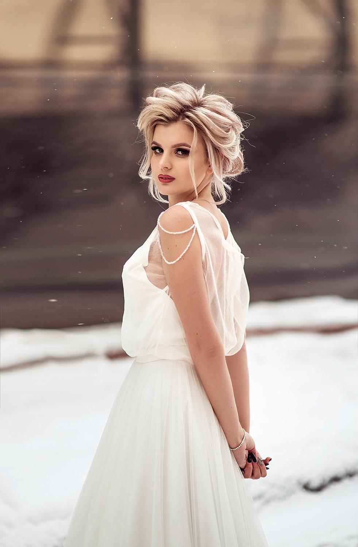 Свадебная фотосъемка и лав стори - Зимняя