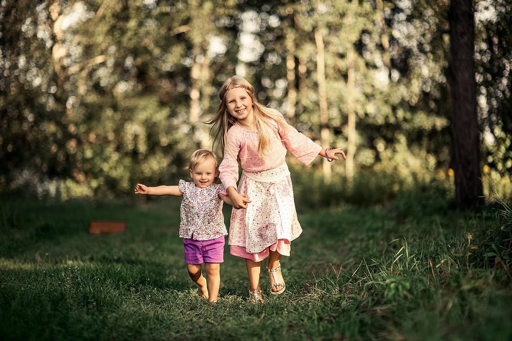 Семейные фотосессии - Аня с семьей