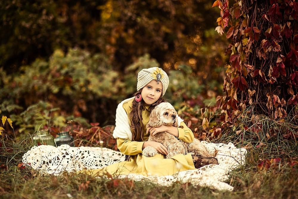 Детская фотосессия - Арина и Джесси