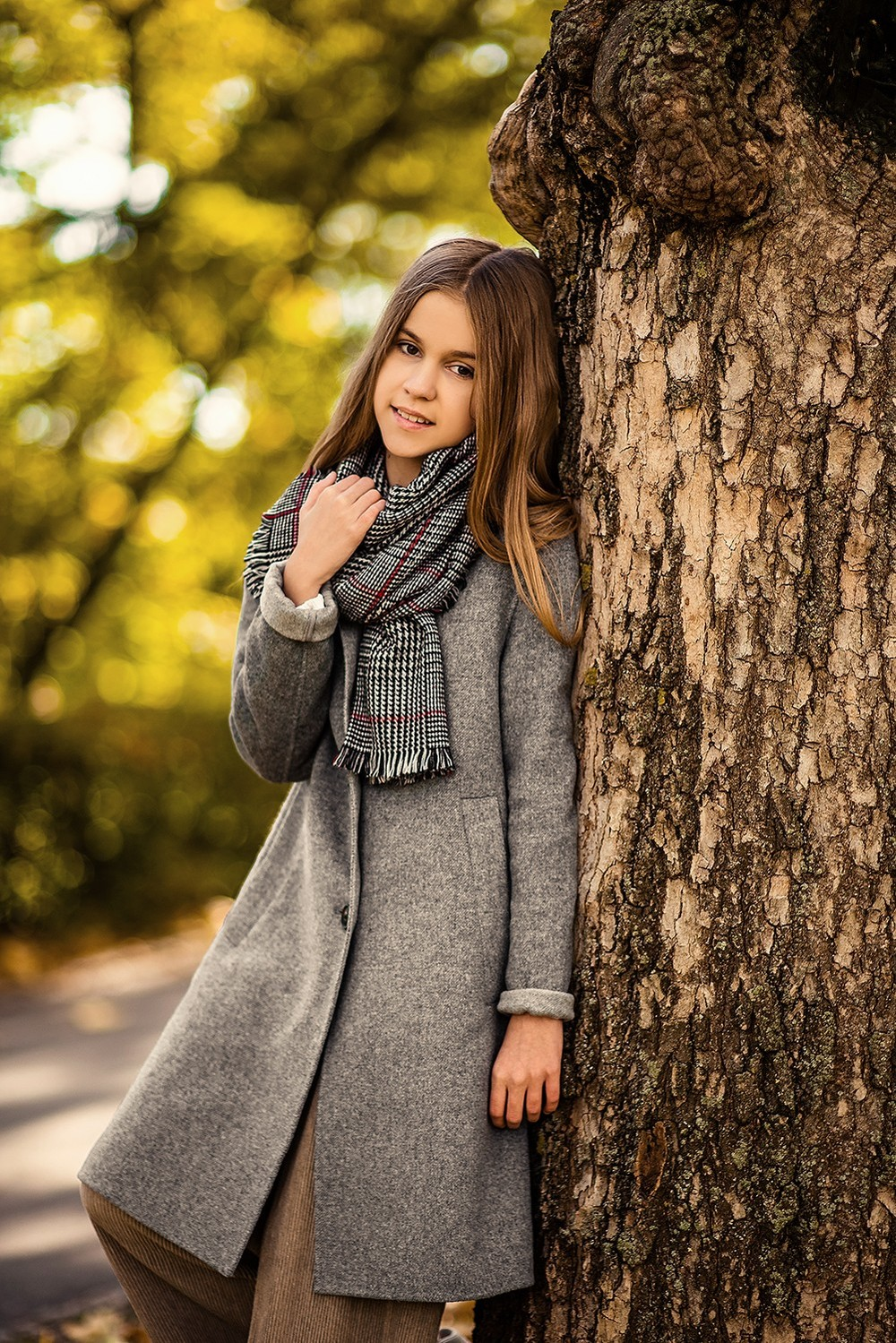 Детская фотосессия - София, осень