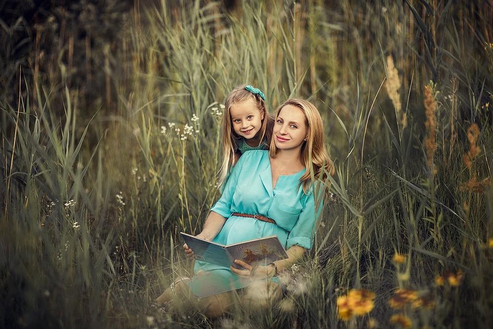 Беременные - Светлана с дочкой