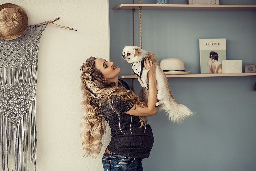 Беременные - Три и пёс
