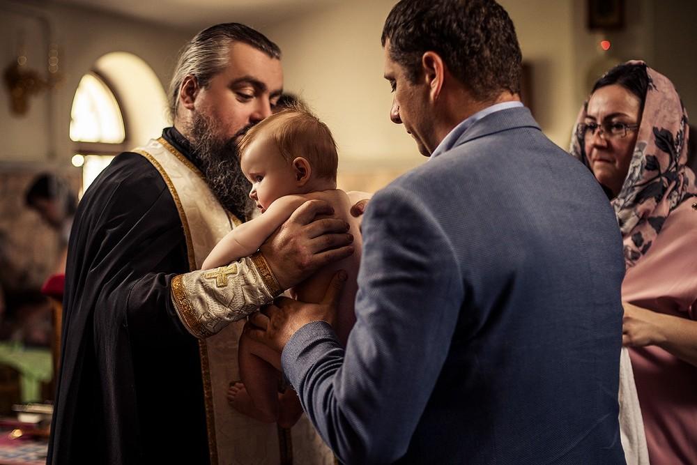 Фотосъемка крещения - Никольская церковь