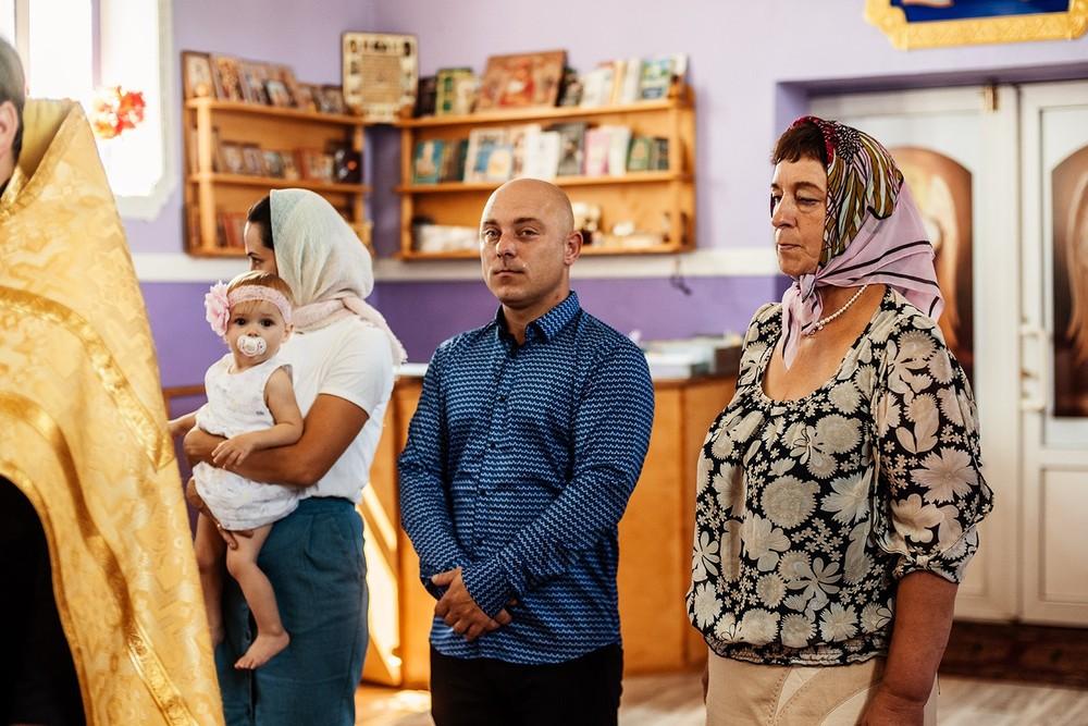 Фотосъемка крещения - Церковь в Качье